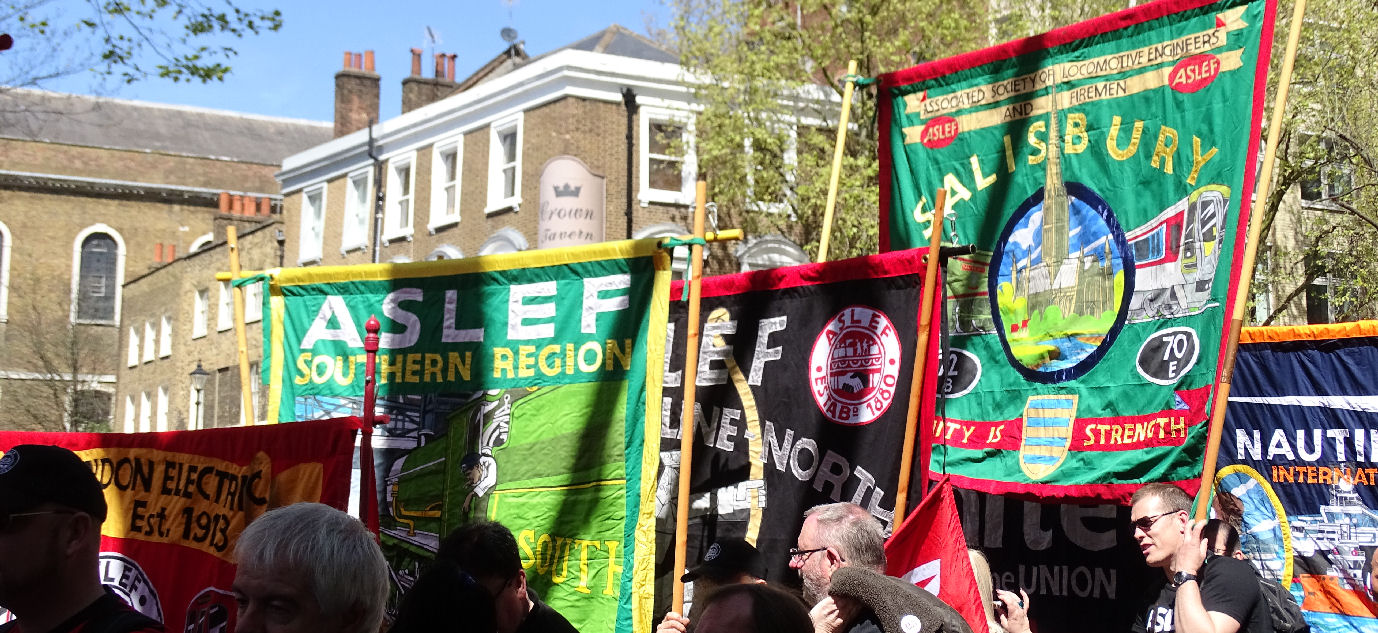ASLEF BANNERS