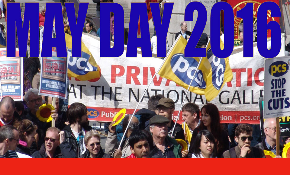 London May Day 2016